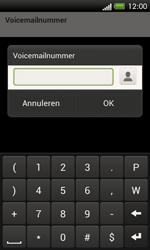 HTC C525u One SV - Voicemail - handmatig instellen - Stap 7
