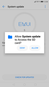 Huawei Mate 9 - Network - Installing software updates - Step 5