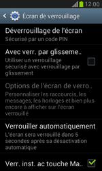 Samsung Galaxy S3 Mini - Sécuriser votre mobile - Activer le code de verrouillage - Étape 11
