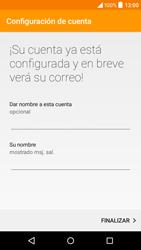 Alcatel Idol 3 - E-mail - Configurar correo electrónico - Paso 20