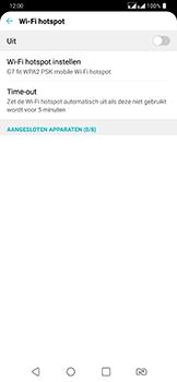 LG g7-fit-dual-sim-lm-q850emw - WiFi - Mobiele hotspot instellen - Stap 5