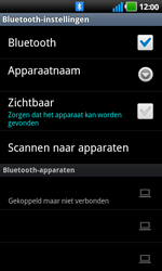 LG P970 Optimus Black - Bluetooth - koppelen met ander apparaat - Stap 11