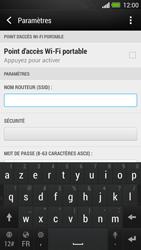 HTC One - Internet et connexion - Partager votre connexion en Wi-Fi - Étape 8