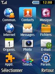 Samsung Solid 271 - Contact, Appels, SMS/MMS - Ajouter un contact - Étape 3
