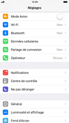 Apple iPhone 8 - Wifi - configuration manuelle - Étape 2