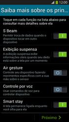Samsung I9500 Galaxy S IV - Primeiros passos - Como ativar seu aparelho - Etapa 13