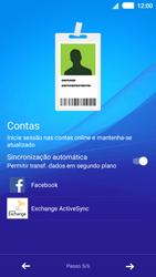 Sony Xperia M4 Aqua - Primeiros passos - Como ligar o telemóvel pela primeira vez -  11