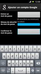 Sony Ericsson Xpéria Arc - Premiers pas - Créer un compte - Étape 15