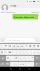 Huawei P9 - Contact, Appels, SMS/MMS - Envoyer un SMS - Étape 9