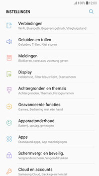 Samsung Galaxy J7 (2017) - Internet - buitenland - Stap 4