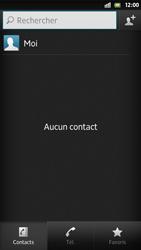 Sony Xpéria S - Contact, Appels, SMS/MMS - Ajouter un contact - Étape 5