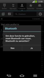 LG D955 G Flex - Contacten en data - Contacten overzetten via Bluetooth - Stap 9