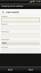 HTC Z520e One S - Email - Manual configuration - Step 12