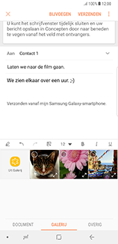 Samsung Galaxy Note 8 - E-mail - hoe te versturen - Stap 13