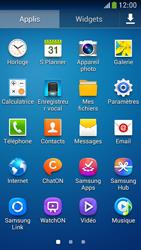 Samsung Galaxy S4 Mini - Internet et connexion - Partager votre connexion en Wi-Fi - Étape 3