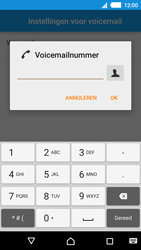 Sony Xperia M4 Aqua (E2303) - Voicemail - Handmatig instellen - Stap 8