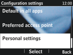Nokia Asha 201 - Internet - Manual configuration - Step 5