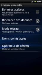 Sony Ericsson Xperia Neo - Internet - activer ou désactiver - Étape 6