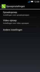 Alcatel OT-5036X Pop C5 - Voicemail - Handmatig instellen - Stap 6