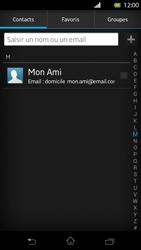 Sony LT30p Xperia T - E-mail - envoyer un e-mail - Étape 5