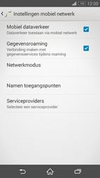Sony D6603 Xperia Z3 - Internet - handmatig instellen - Stap 9