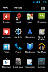 Acer Liquid Z2 - Internet - Enable or disable - Step 3