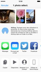 Apple iPhone 5c (iOS 8) - Photos, vidéos, musique - Prendre une photo - Étape 9