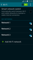 Samsung G850F Galaxy Alpha - Wi-Fi - Connect to a Wi-Fi network - Step 6