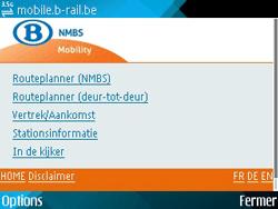 Nokia E71 - Internet - navigation sur Internet - Étape 14