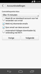 Huawei Ascend P7 - E-mail - e-mail instellen (outlook) - Stap 8