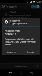 Sony C1905 Xperia M - Bluetooth - headset, carkit verbinding - Stap 7