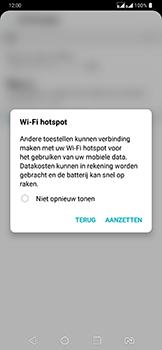 LG g7-fit-dual-sim-lm-q850emw - WiFi - Mobiele hotspot instellen - Stap 10