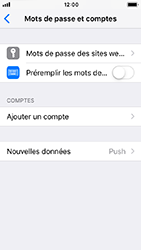 Apple iPhone 5s - iOS 12 - E-mail - Configurer l