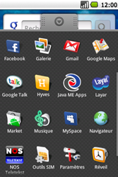 Samsung I5700 Galaxy Spica - Messagerie vocale - Configuration manuelle - Étape 3