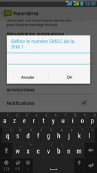 HTC Desire 516 - SMS - Configuration manuelle - Étape 8