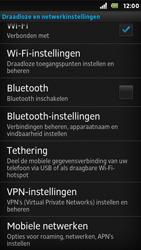 Sony ST25i Xperia U - Internet - aan- of uitzetten - Stap 5