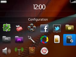 BlackBerry 9900 Bold Touch - E-mail - Configuration manuelle - Étape 3