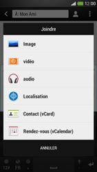 HTC One Mini - MMS - envoi d'images - Étape 11