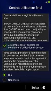 Samsung Galaxy Note 3 - Premiers pas - Créer un compte - Étape 5