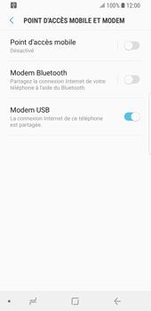 Samsung Galaxy S9 - Internet et connexion - Utiliser le mode modem par USB - Étape 9