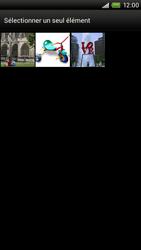 HTC S720e One X - MMS - envoi d'images - Étape 10