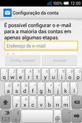 Alcatel POP C1 - Email - Configurar a conta de Email -  5