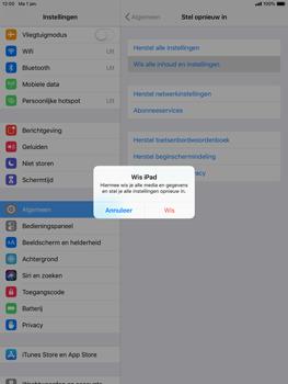 Apple ipad-air-ios-12 - Resetten - Fabrieksinstellingen terugzetten - Stap 6