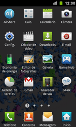 Samsung I9100 Galaxy S II - Wi-Fi - Como configurar uma rede wi fi - Etapa 3