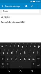 HTC Desire 816 - E-mail - Envoi d