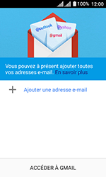 Alcatel U3 - E-mails - Ajouter ou modifier votre compte Gmail - Étape 5