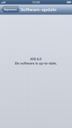 Apple iPhone 5 - Toestel - Software update - Stap 6
