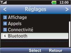 LG C360 Golf - Bluetooth - Jumeler avec un appareil - Étape 4