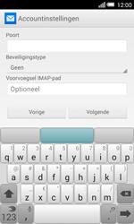 Alcatel OT-5050X Pop S3 - E-mail - Account instellen (IMAP zonder SMTP-verificatie) - Stap 11