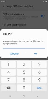 Samsung galaxy-j4-plus-dual-sim-sm-j415fn-android-pie - Beveiliging en ouderlijk toezicht - Hoe wijzig ik mijn SIM PIN-code - Stap 10